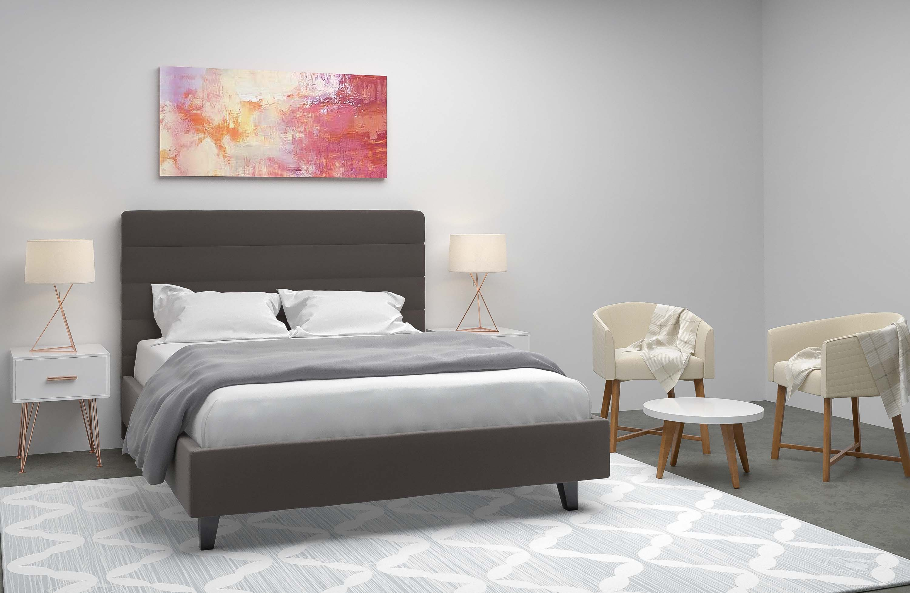 bedroom virtual interior decor