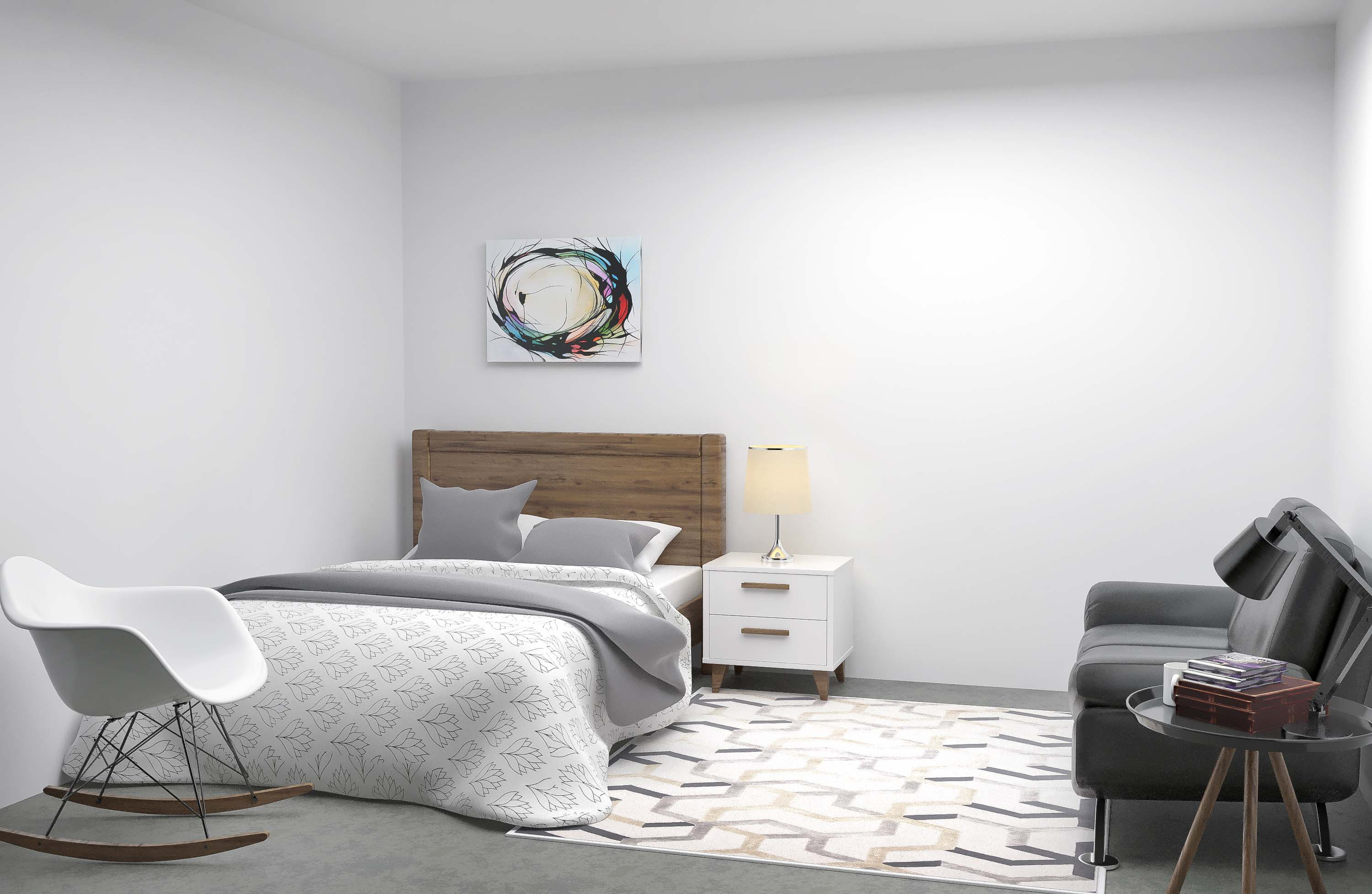 bedroom 3d interior design