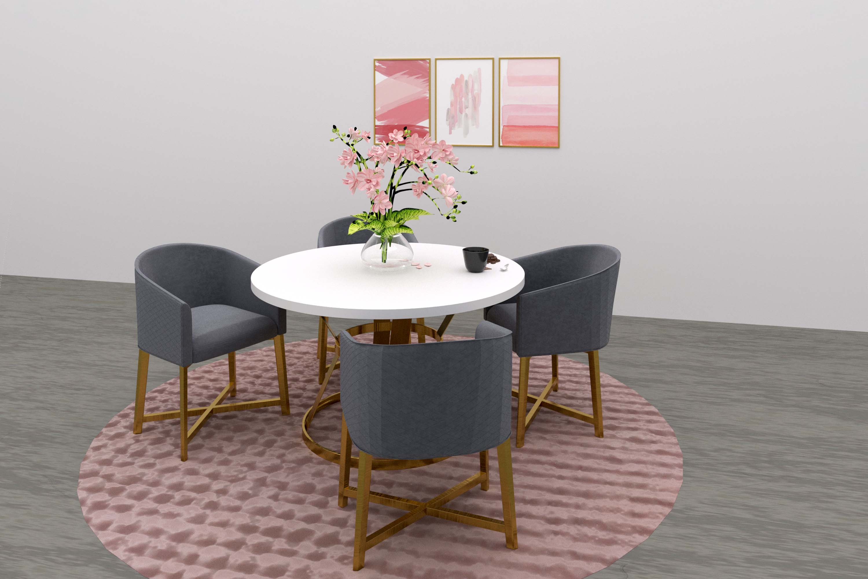 dining cafe virtual furniture