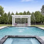 retouched real estate swimming pool