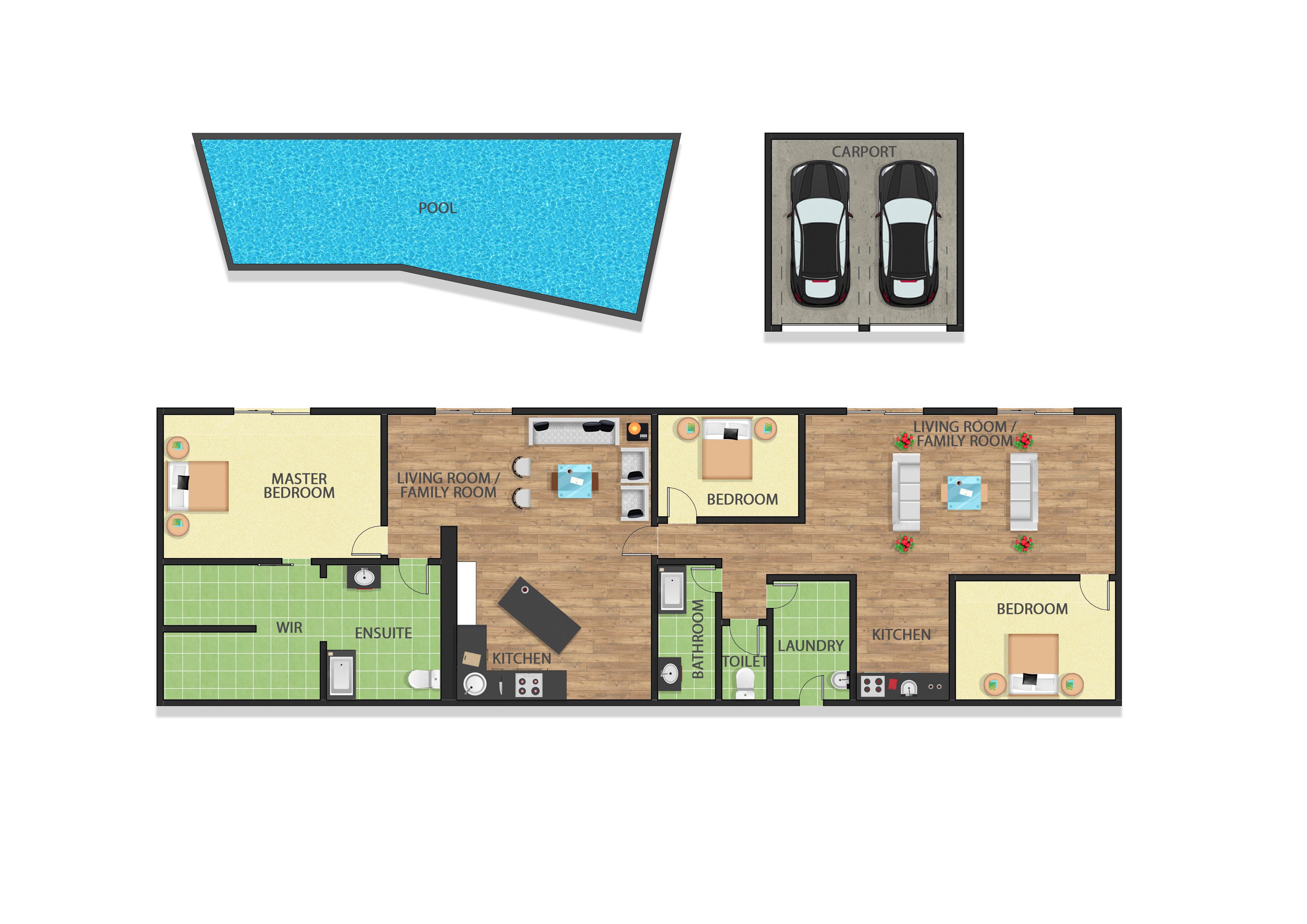 2d floor plan texture floor plan