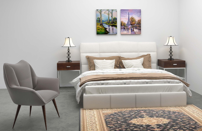 bedroom 3d design render
