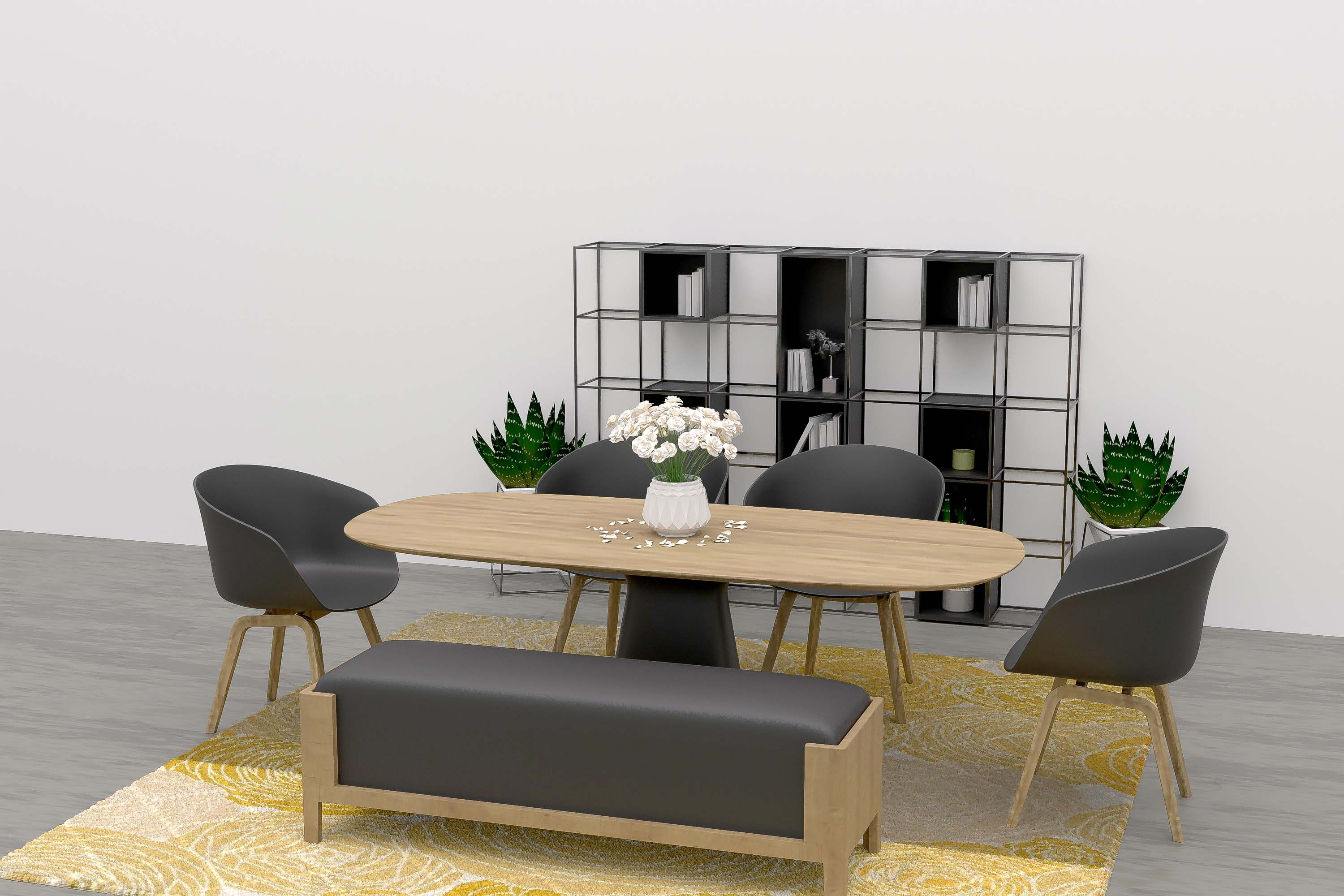 dining area virtual home staging