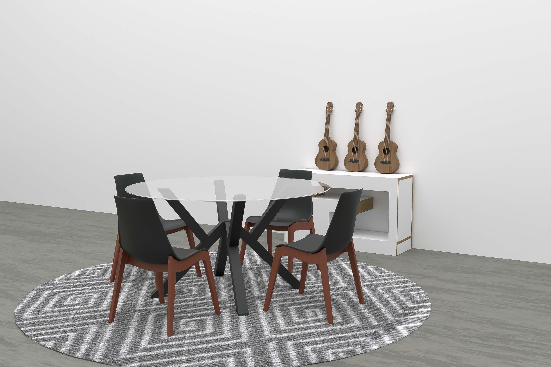 coffee table render 3d